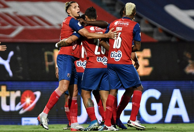 Agustín Vuletich, Deportivo Independiente Medellín, DIM, Liga BetPlay 2021-I, La Equidad Seguros