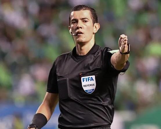 Andrés Rojas, designado para el partido de la Recopa Sudamericana