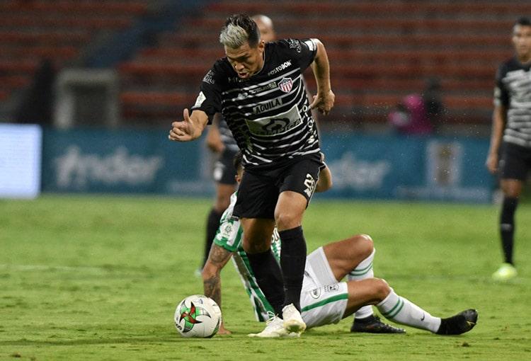 Atlético Nacional, Junior FC, Campo Elías Terán Jr., Teófilo Gutiérrez, Sebastián Viera, Liga BetPlay 2021-I