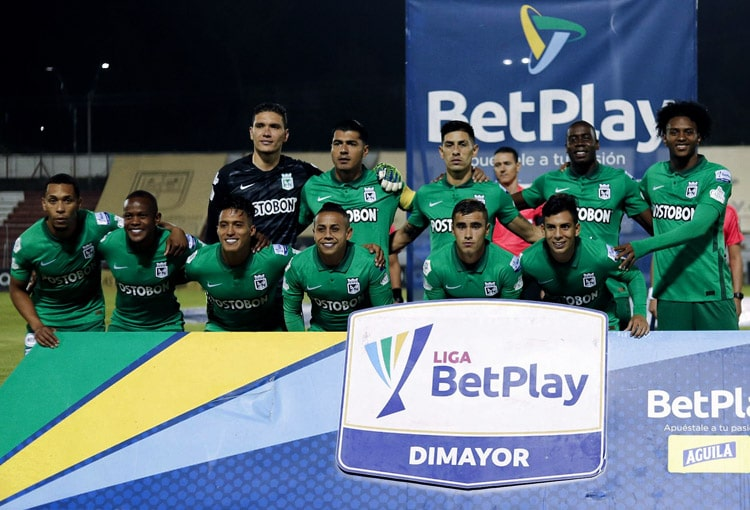 Atlético Nacional, Liga BetPlay 2021-I, Águilas Doradas 1-1 Atlético Nacional, fecha 11