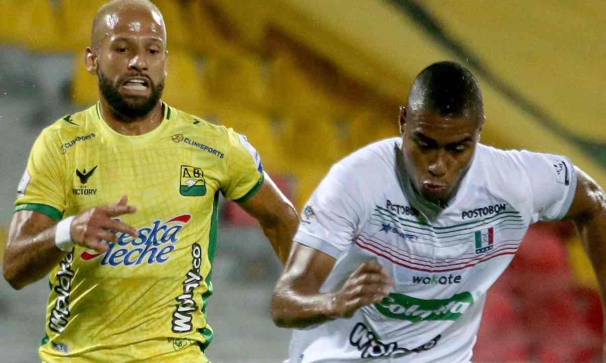 Bucarmanga y Once Caldas no se sacaron ventaja en un entretenido partido