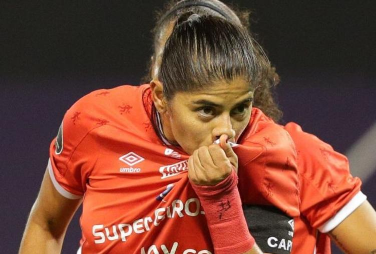 Catalina Usme la mejor jugadora de la Copa Libertadores 2020