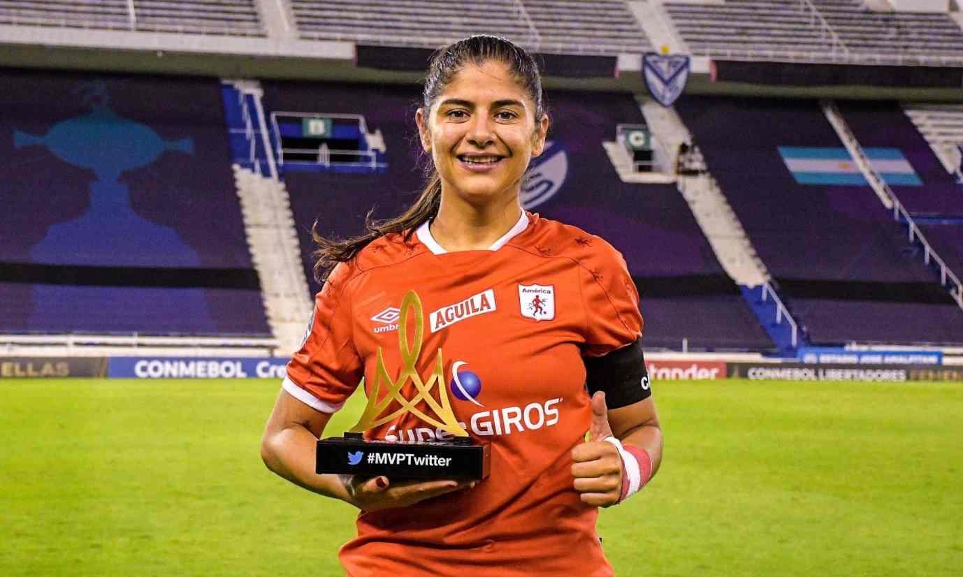 Catalina Usme lidera votaciones a Mejor Jugadora de la Libertadores Femenina