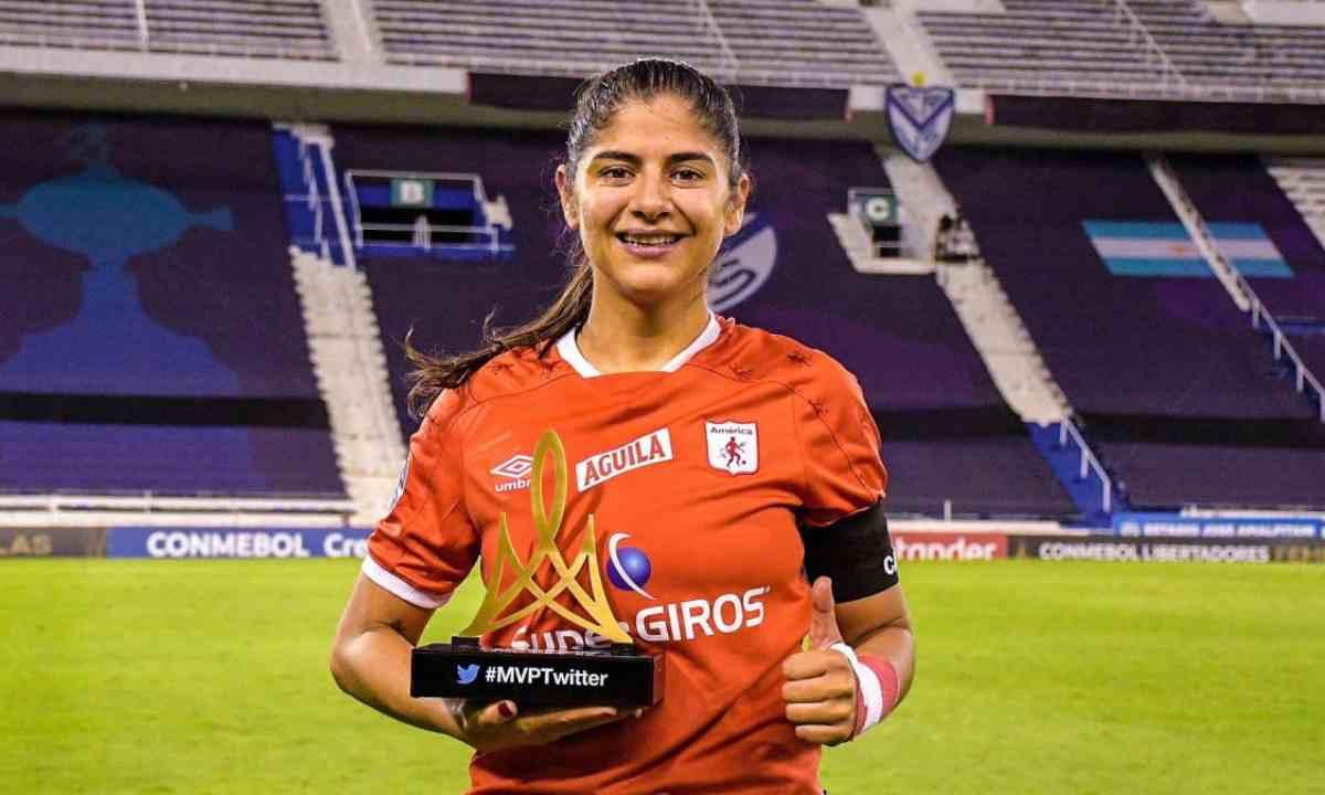 Catalina Usme se convirtió en la máxima goleadora histórica de la Libertadores