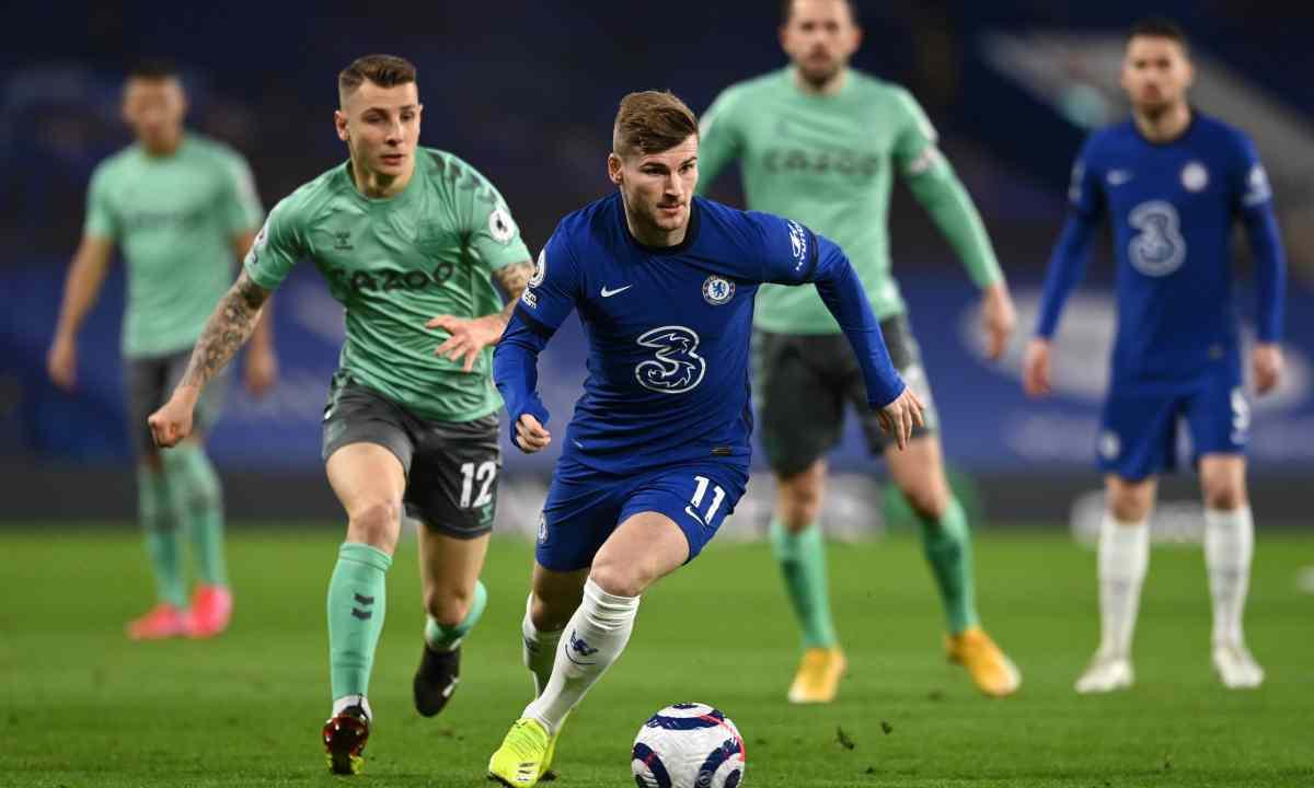 Chelsea sigue imparable con Tuchel derrotaron a Everton que no contó con los colombianos