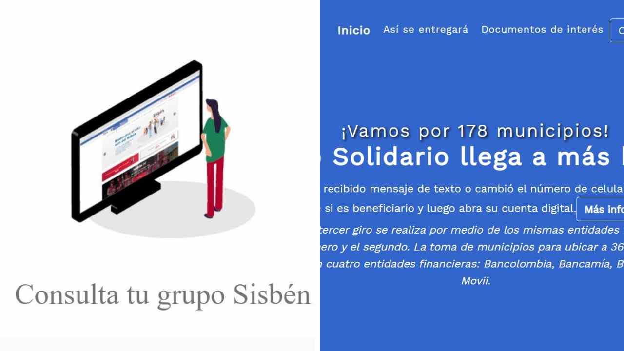 Cómo son las consultas con la cédula en el Ingreso Solidario y Sisbén IV