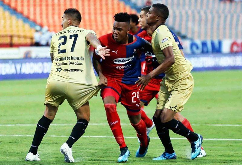 Historial de partidos entre Águilas Doradas vs. Medellín