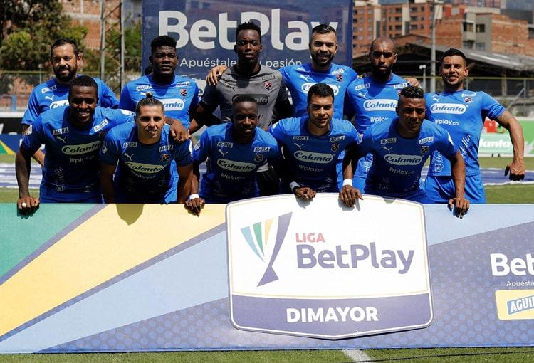 DIM, Deportivo Independiente Medellín, Liga BetPlay 2021-I, Envigado FC 1-1 Deportivo Independiente Medellín