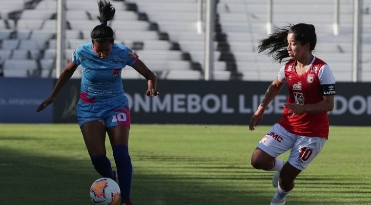 Debut goleador de Santa Fe en la Copa Libertadores Femenina
