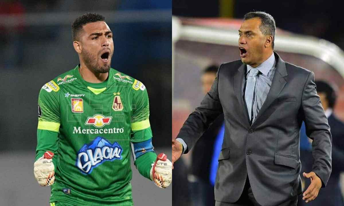 Deportes Tolima reportan pelea entre Hernán Torres y Álvaro Montero