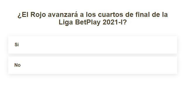 ¿Deportivo Independiente Medellín clasificará a los playoffs de la Liga BetPlay 2021-I?