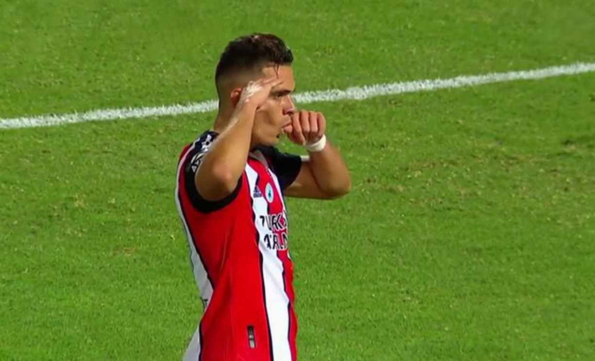 En Argentina aseguran que River Plate no ha ofertado para renovarle a Santos Borré