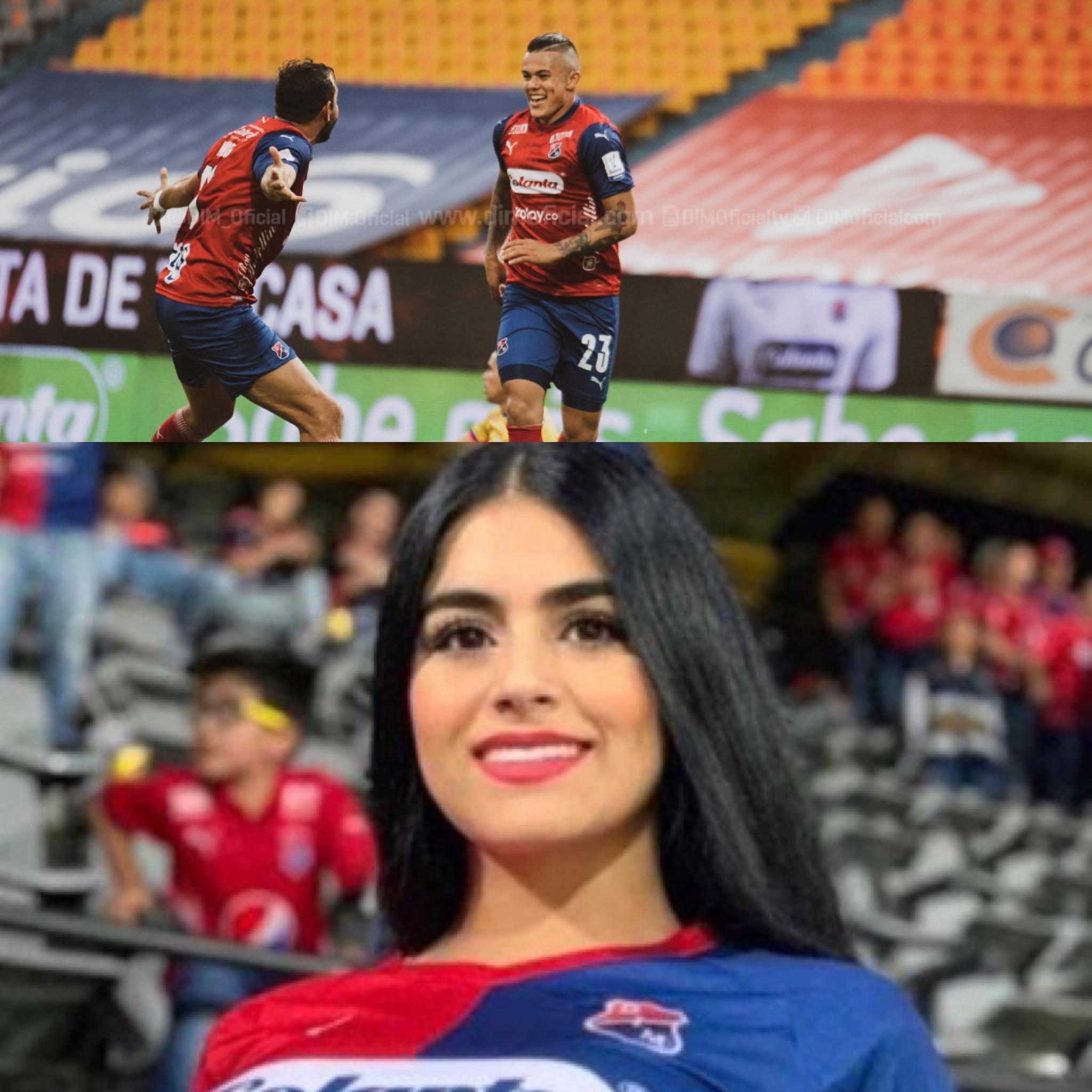 ¡A cumplir! Leo Castro ya hizo gol, sigue la parte de la modelo Valeria Giraldo