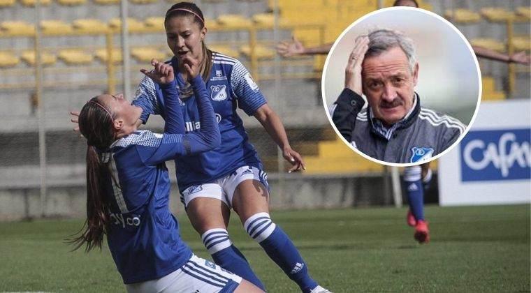 El presidente de Millonarios y su dura crítica al fútbol femenino