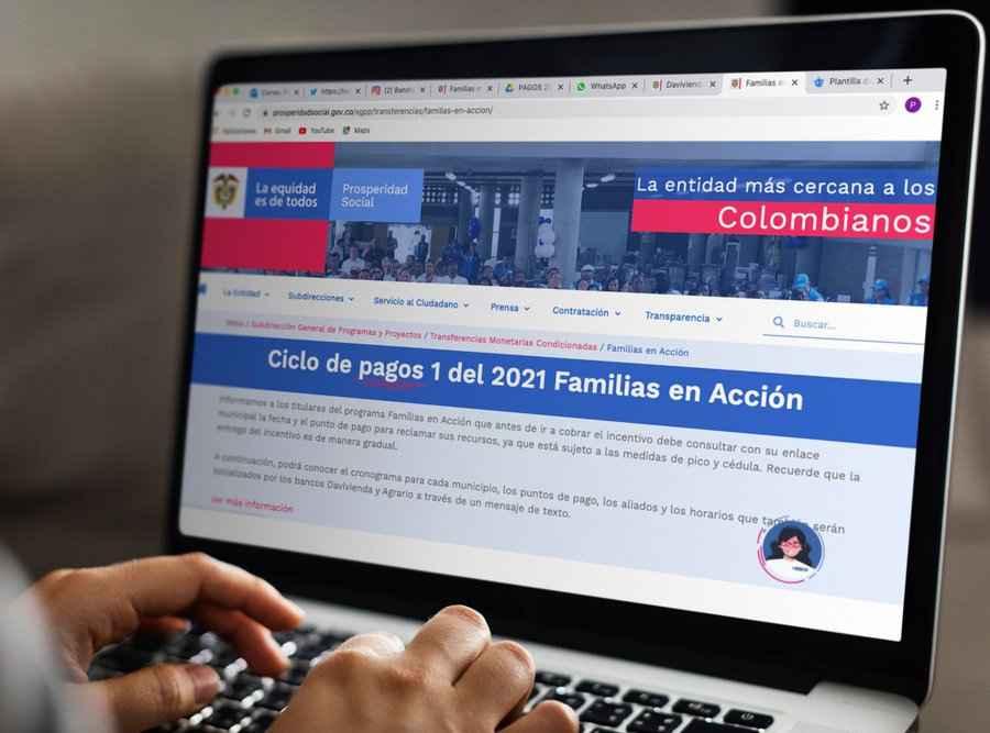 Familias en Acción 2021: ¿Cómo son los giros en Davivienda y Banco Agrario?