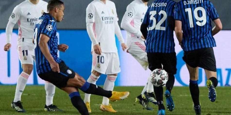 Gol de Luis Fernando Muriel ante Real Madrid, nominado al mejor de la semana en Champions