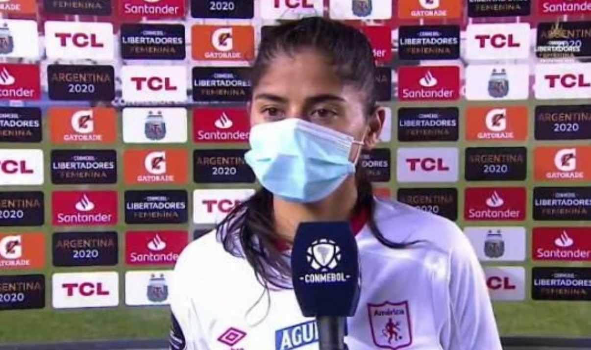 Gran gesto de Catalina Usme en la Copa Libertadores femenina