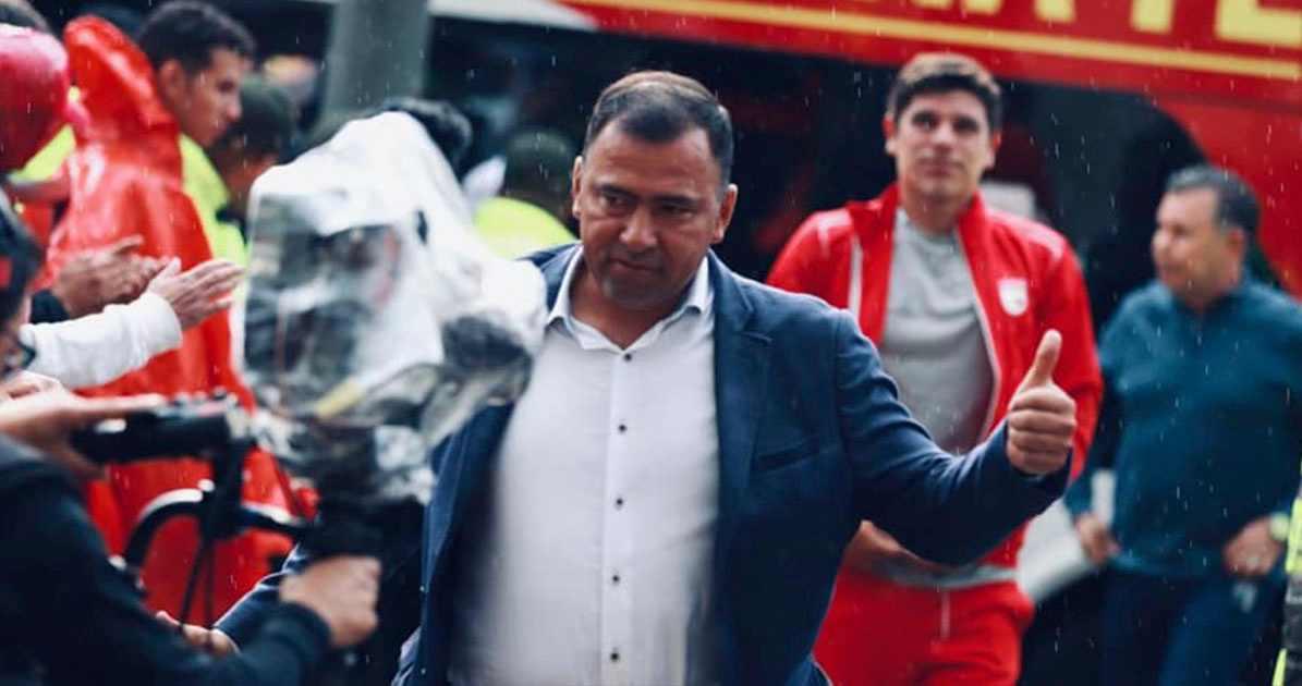 Harold Rivera, elegido como el mejor DT de la Liga BetPlay 2020 por el diario El País