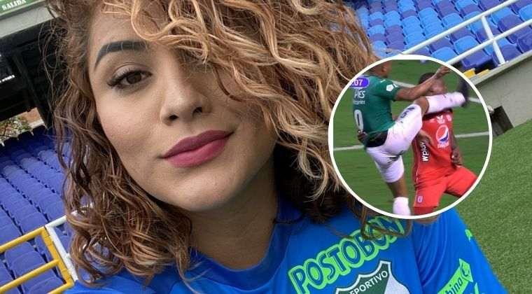 Hincha del Deportivo Cali volvió a ser tendencia en redes, ahora por la patada a Marlon Torres