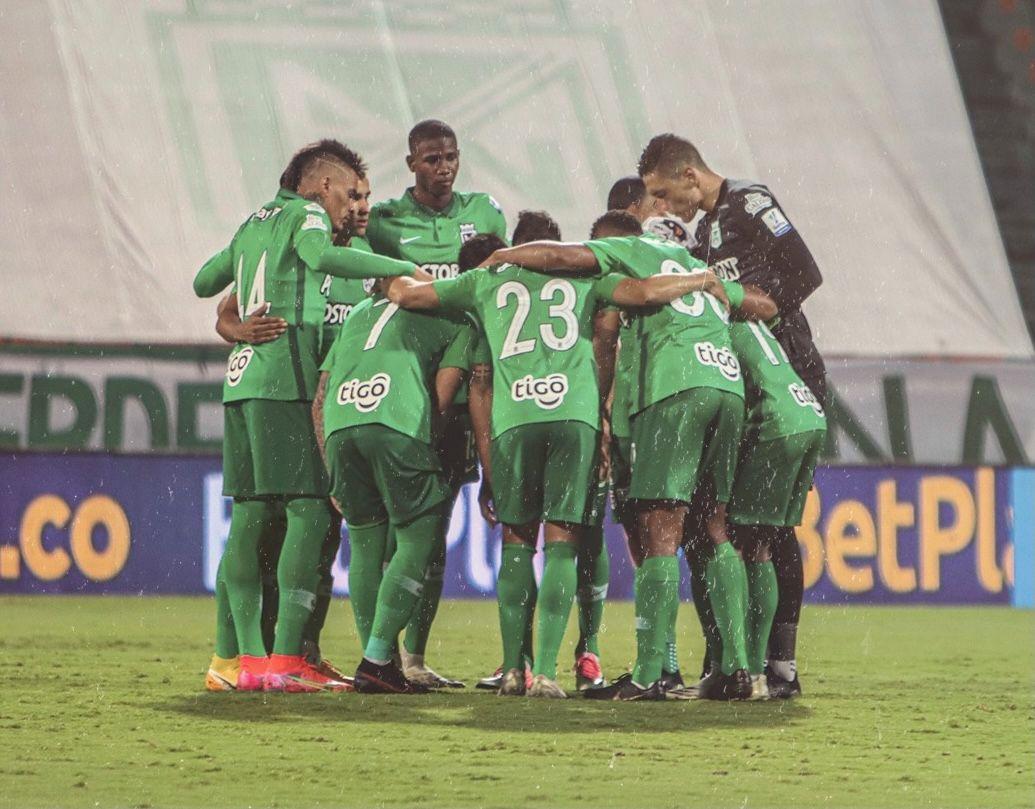 ¡Recuperando terreno! La nueva posición de Atlético Nacional en la Liga BetPlay 2021-I