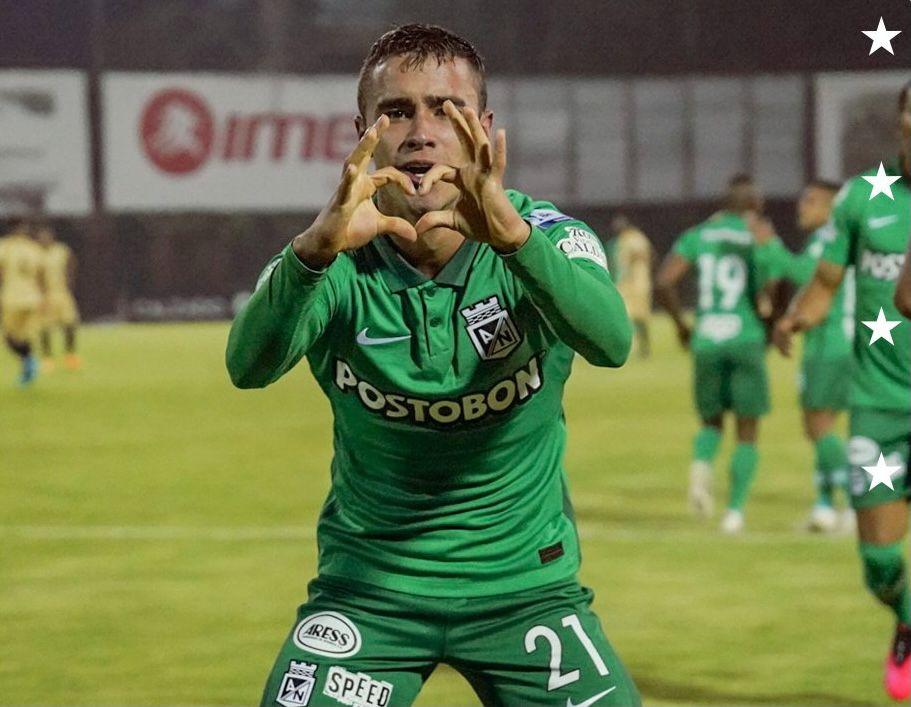 Así celebró la familia Ángel el primer gol de Tomás con Nacional