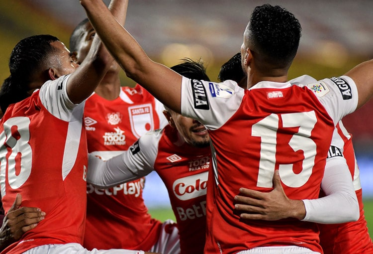 Independiente Santa Fe, Deportes Tolima, Liga BetPlay 2021-I, Independiente Santa Fe 3-2 Deportes Tolima