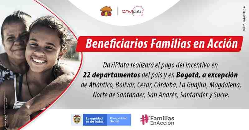 Ingreso Solidario y subsidios confirmados por Daviplata en marzo
