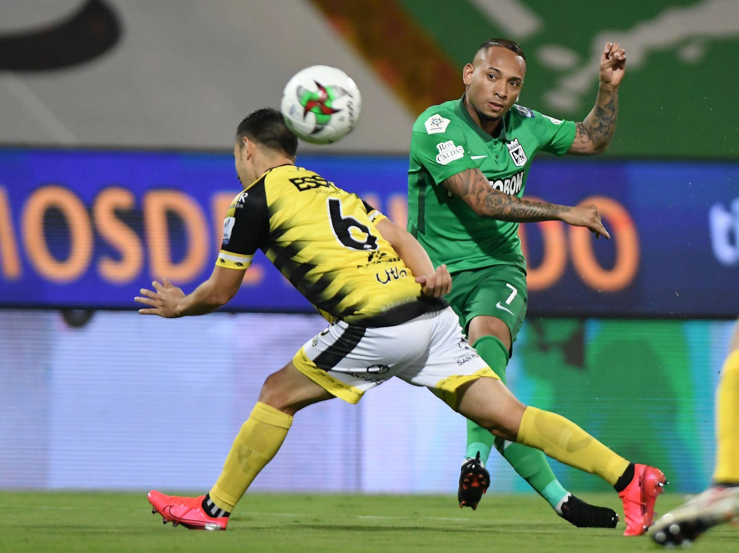 Jarlan Barrera vs. Águilas: por la punta de los goleadores de la Liga BetPlay