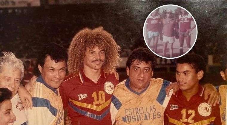 Jorge Oñate y los jugadores que hizo debutar en Junior de Barranquilla