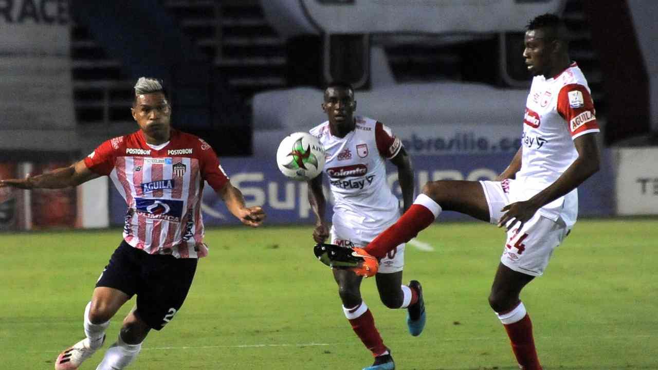Junior y Independiente Santa Fe repartieron puntos en la fecha 15