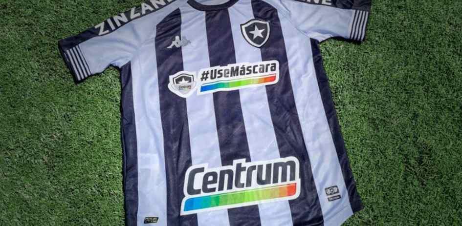 La campaña del Botafogo acerca del uso de tapabocas