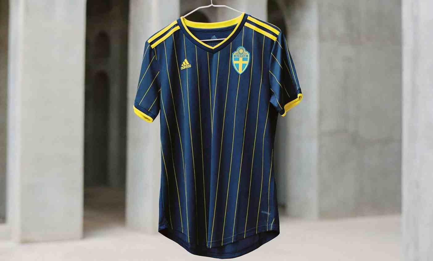 La espectacular camiseta alternativa adidas de Suecia