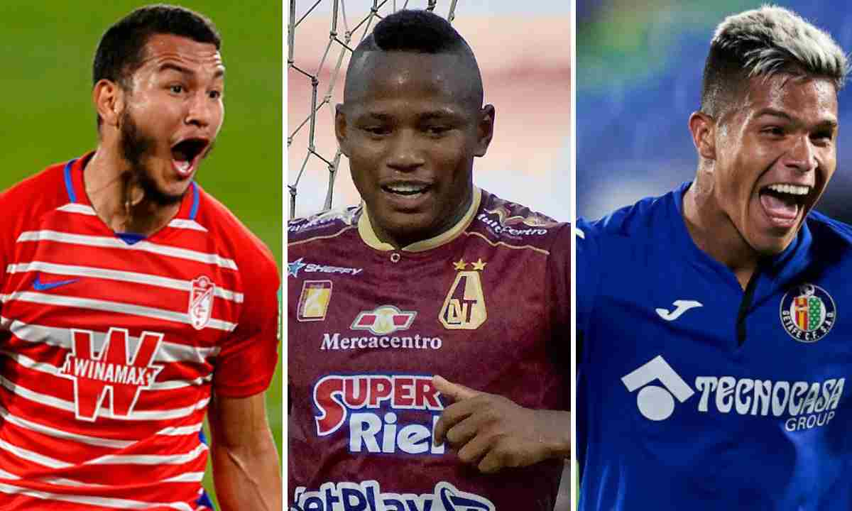 Los Sub-23 colombianos más caros del mundo. Campaz, el único del FPC