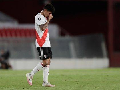 Hinchas de River Plate explotaron contra Jorge Carrascal tras el Superclásico