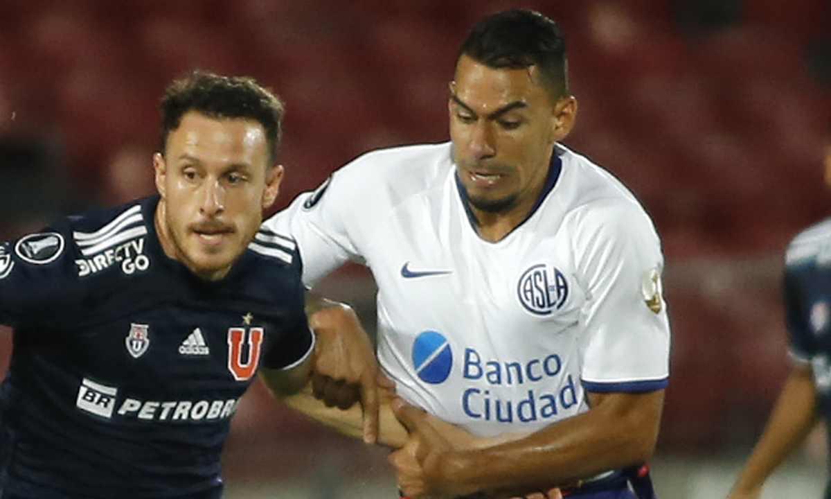 Mala suerte para Yeison Gordillo se fracturó en su segundo partido con San Lorenzo