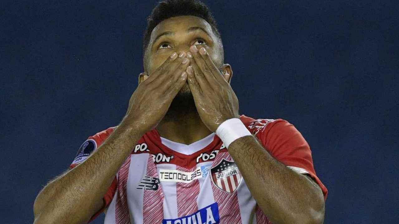 Miguel Borja solamente necesitó 1 minuto para marcar vs. Santa Fe