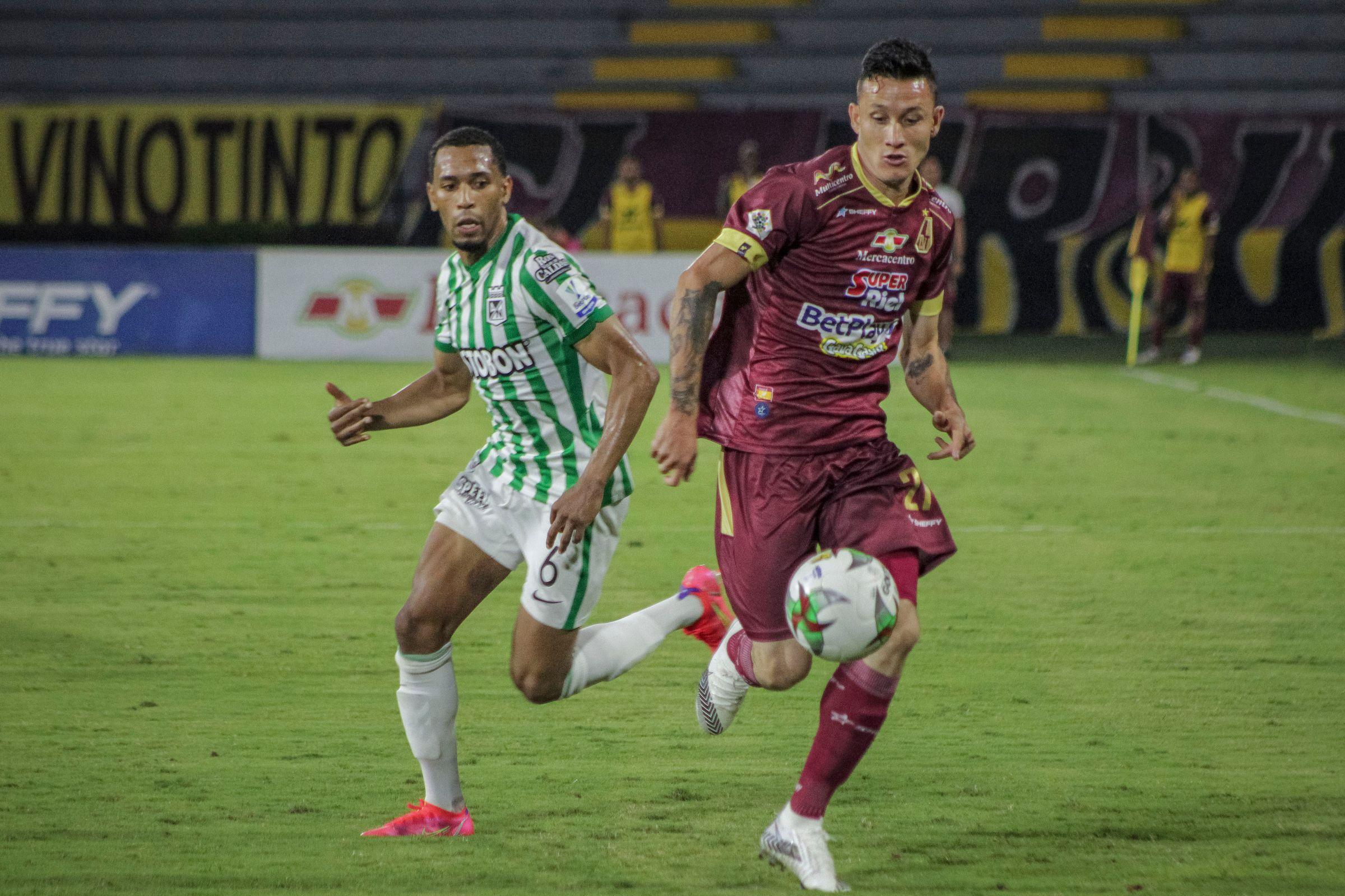 El preocupante registro con el que Nacional recibirá al Tolima por Liga BetPlay II