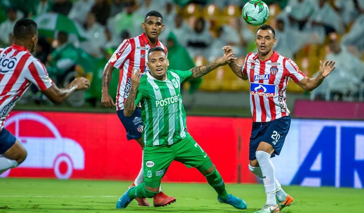 En la fecha 12 habrá un clásico en el Atanasio: Nacional recibirá al Junior FC