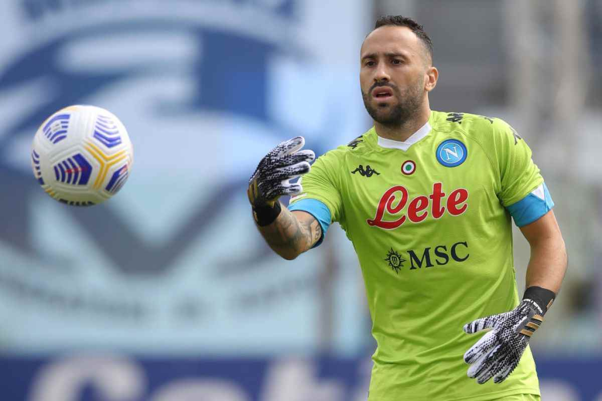 David Ospina se recuperó y sería titular en duelo Napoli vs. Udinese