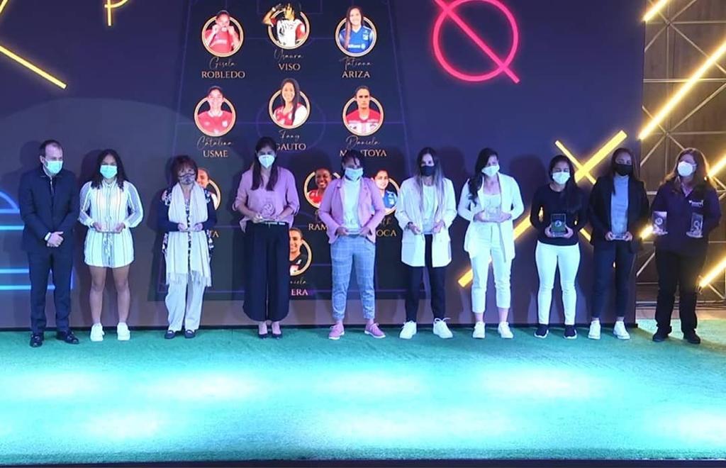 Ganadoras Premios Fémina Fútbol 2021