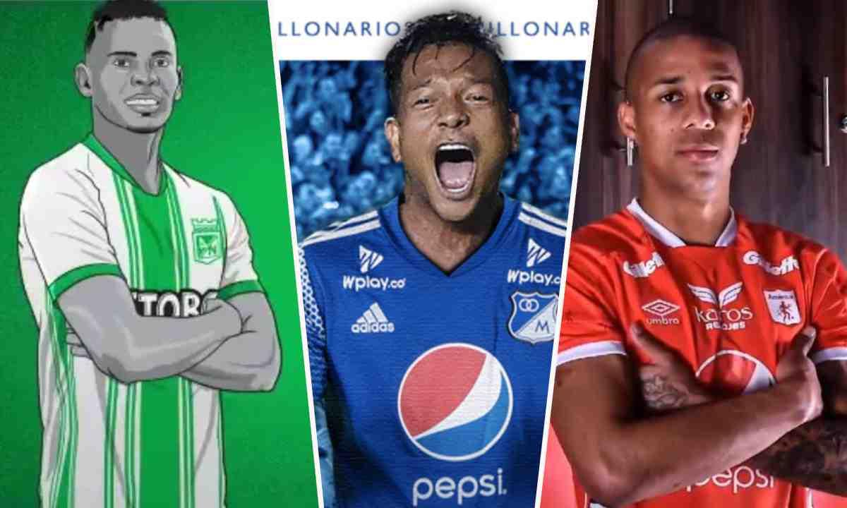 Se cierra el mercado de fichajes en el fútbol colombiano