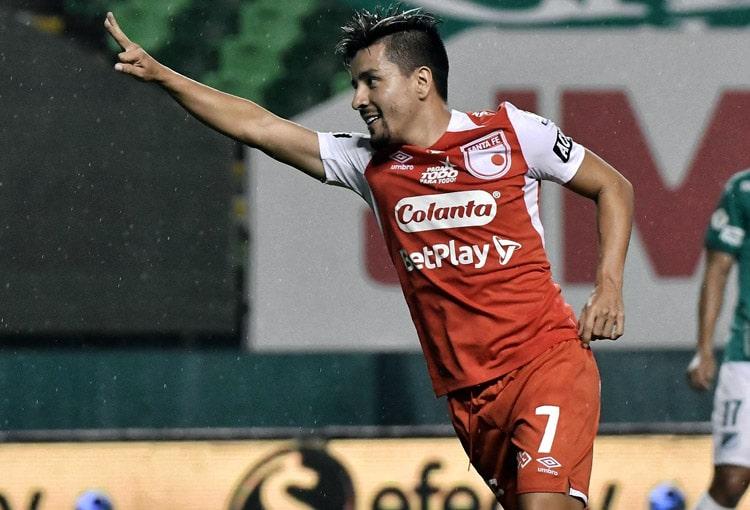 Sherman Cárdenas, Independiente Santa Fe, Deportes Tolima, Liga BetPlay 2021-I