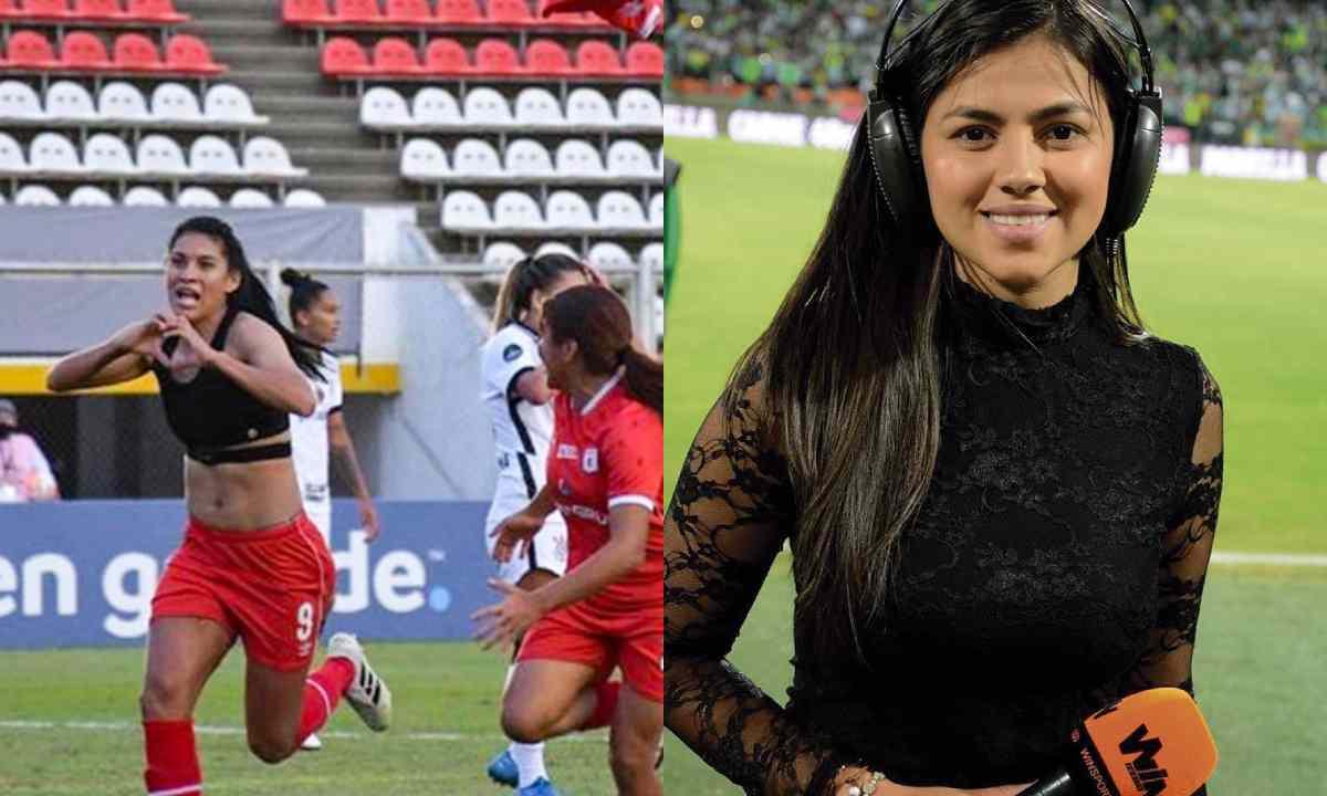 Sheyla García, entre críticas y elogios por el gol de América en la Libertadores