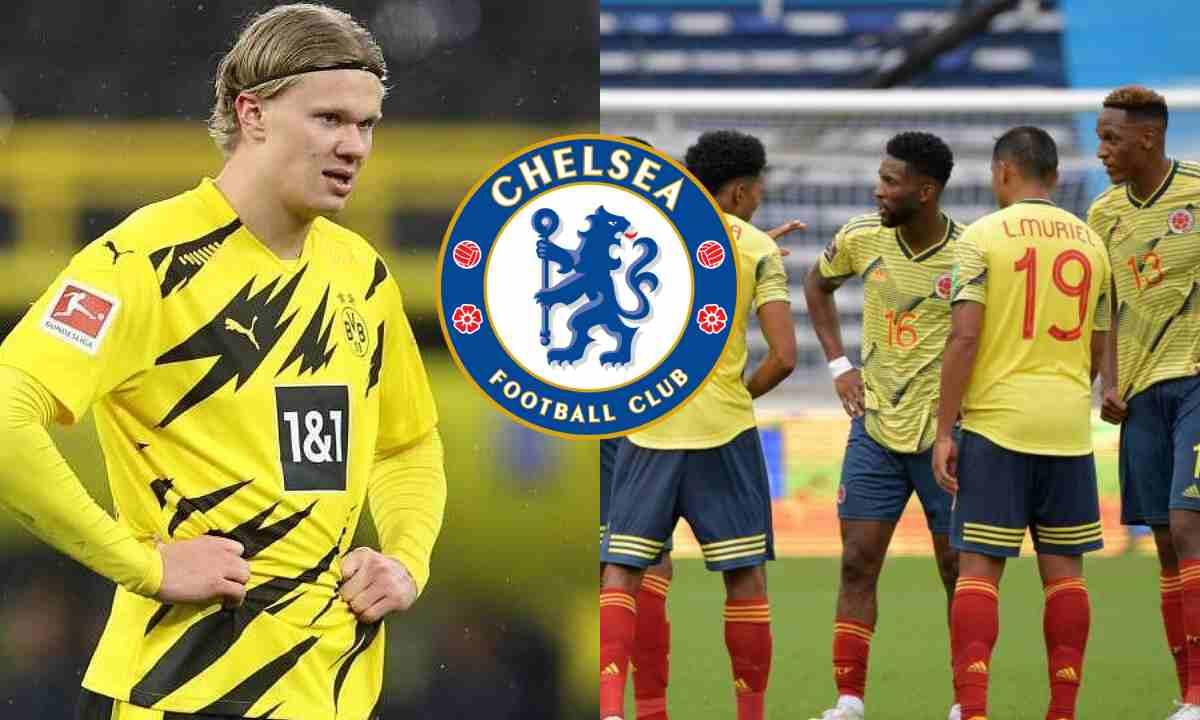 Si Chelsea no puede contratar a Haaland, tienen en la mira a un colombiano