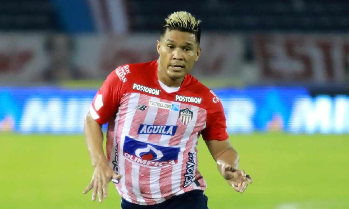 Teófilo Gutiérrez la dura baja del Junior para el debut en Copa Libertadores