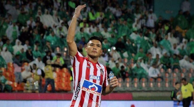 Teófilo Gutiérrez, la gran novedad del Junior para enfrentar a Atlético Nacional
