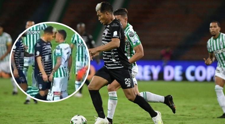 """Teófilo Gutiérrez y la razón por la que agredió a Jarlan Barrera: """"porque amo estos colores"""""""
