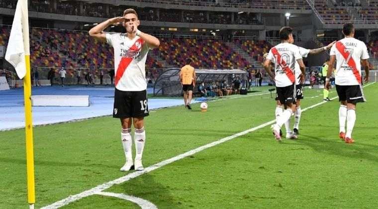 Todos los elogios para Santos Borré desde la prensa de Argentina