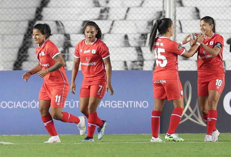 Debut con goleada para América de Cali en la Copa Libertadores Femenina