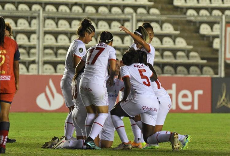 Triunfo y clasificación de América de Cali en la Copa Libertadores Femenina